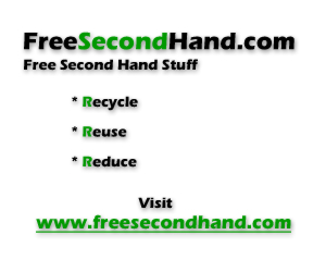 freesecondhand.com - USA free second hand stuff